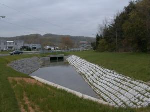 Cable Concrete erosion control