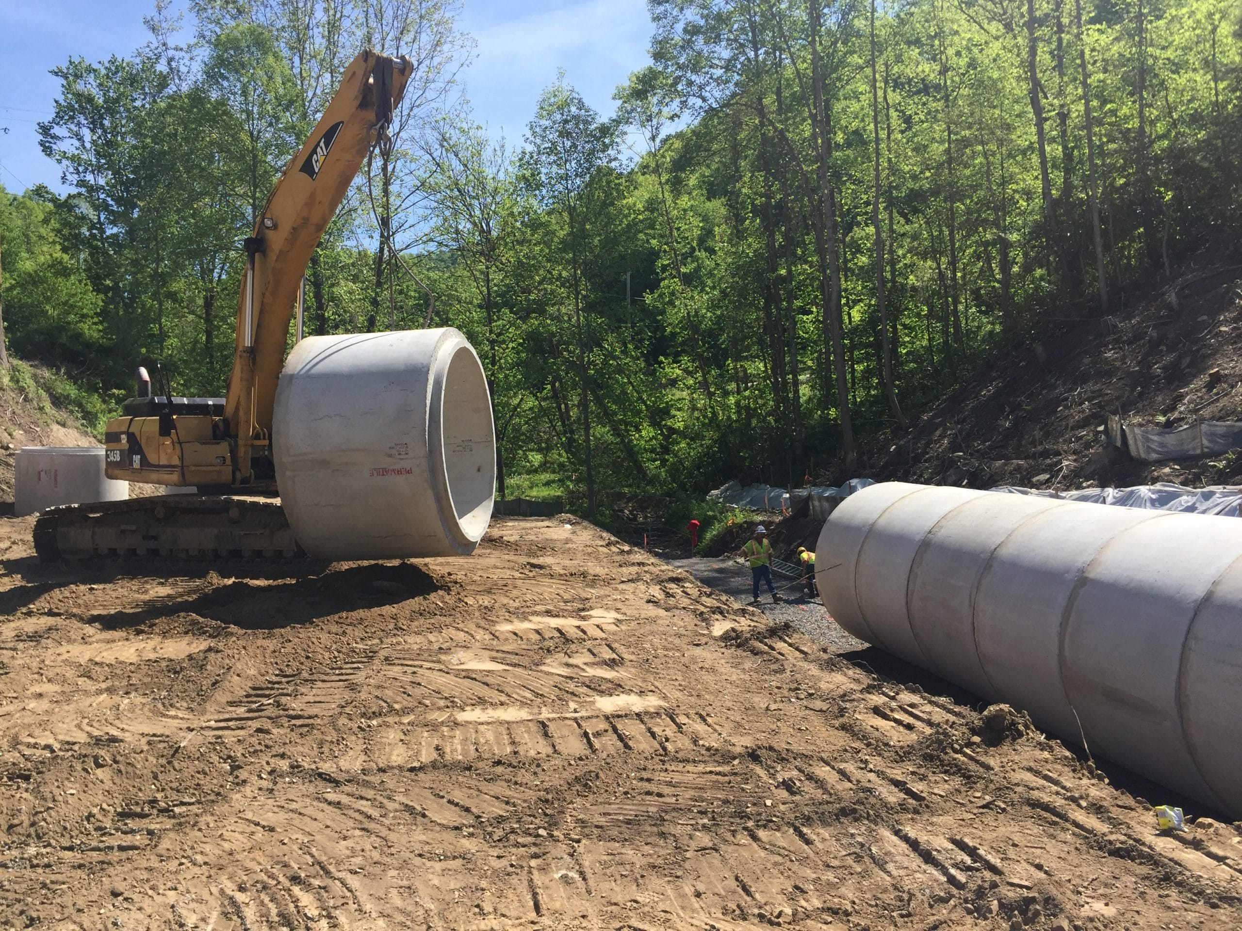 Concrete Pipe Tee : Concrete pipe permatile products company
