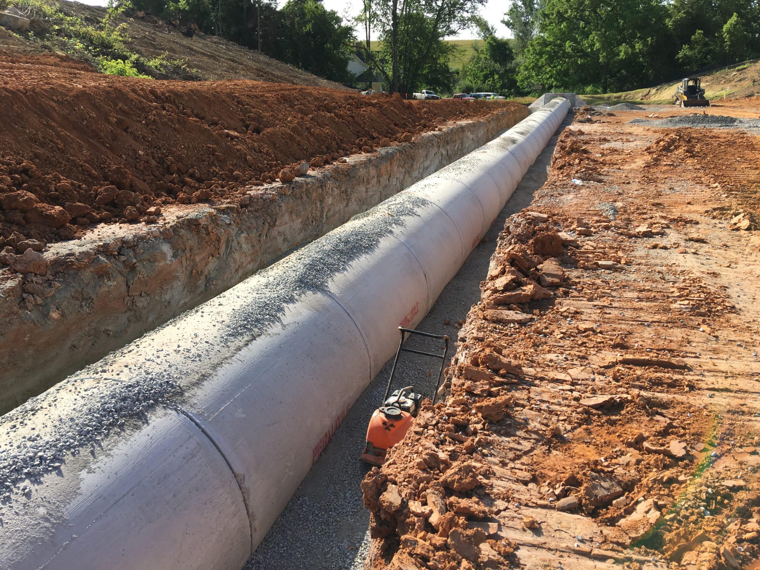 Cement Drain Pipe 24 : Concrete pipe permatile products company