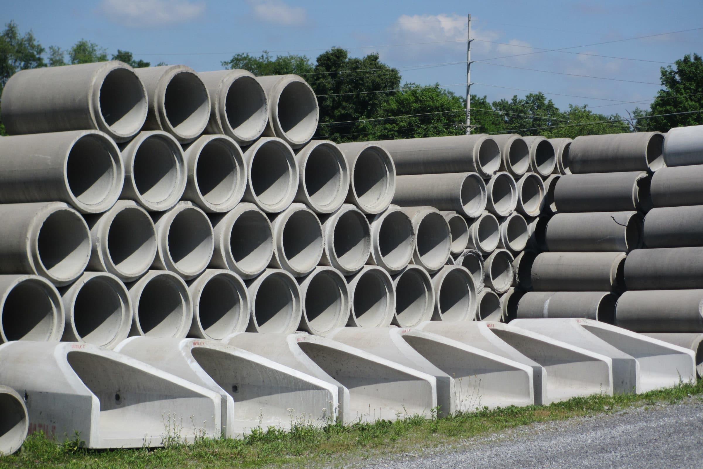 12 Concrete Pipe : Concrete pipe permatile products company