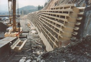 Tunnel Wall during const
