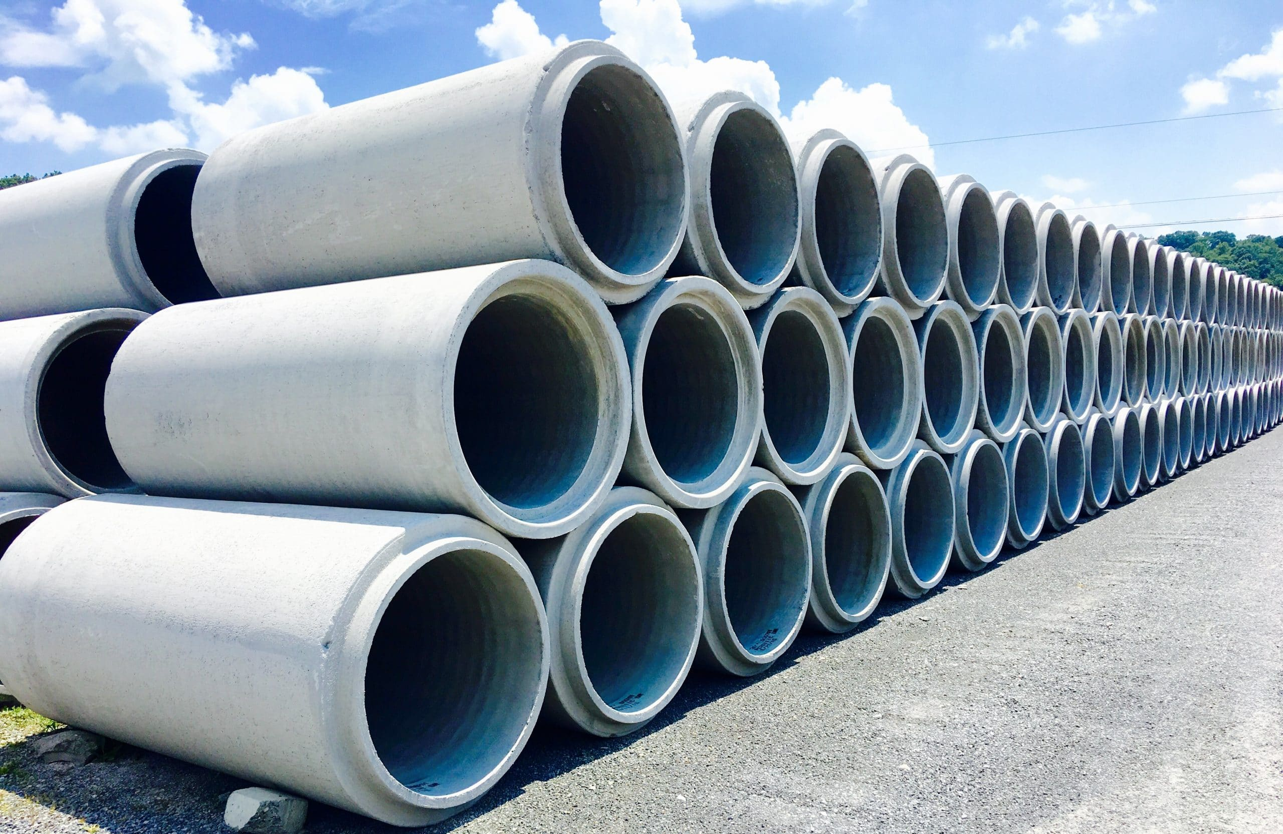 Concrete Pipe - Permatile Concrete Products Company